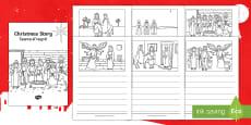 * NEW * Christmas Story Booklet English/Hindi