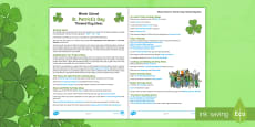 * NEW * St. Patrick's Day 2019 Whole School Themed Day Teaching Ideas