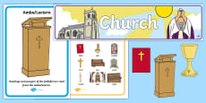 * NEW * Church Role-Play Pack