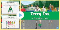 * NEW * Terry Fox PowerPoint