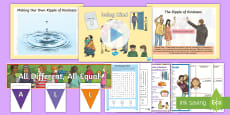 * NEW * KS2 Anti Bullying Week - All Different All Equal? 2017 Resource Pack
