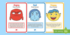 Mood Monsters Poster Set