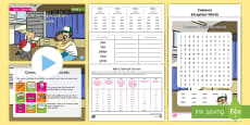 * NEW * Year 2 Term 2A Week 6 Spelling Pack