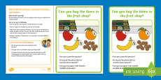 * NEW * EYFS Maths Mastery Counting Home Learning Challenge: Counting Pennies