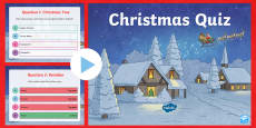 Christmas Quiz PowerPoint