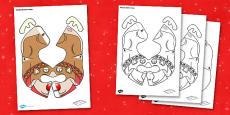 Christmas Reindeer Bee-Bot Jacket