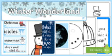 Ready Made Winter Wonderland Display Pack