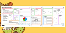 SATs Survival: Year 6 Autumn 1 Maths Revision Activity Mats