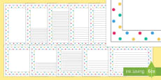 Spotty Page Border Pack
