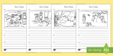 * NEW * Picture and Story Writing Activity
