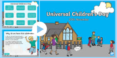 KS1 Universal Children's Day PowerPoint