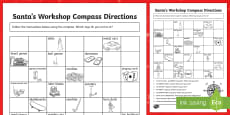 Christmas Compass Activity