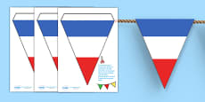 French Flag Bunting