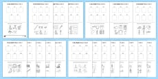 I Can Read! Phase 2 Words Activity Sheet Pack