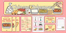 Chinese Take Away Role Play Pack