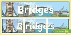 * NEW * Bridges Display Banner