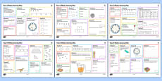 SATs Survival: Year 2 Summer 1 Maths Revision Activity Mats