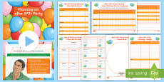 * NEW * KS2 After SATs Party Planning Activity Pack