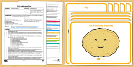 EYFS The Runaway Pancake Movement Activity Adult Input Plan and Resource Pack