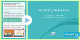 Twinkl Handwriting User Guide PowerPoint