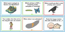 General Knowledge Quiz PowerPoint - - general knowledge quiz