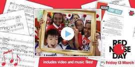 Red Nose Day 2015 Song, Video and Lyrics Pack