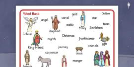 Nativity Word Bank