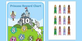 My Princess Castle Reward Chart