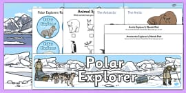 Polar Explorers Role Play Pack