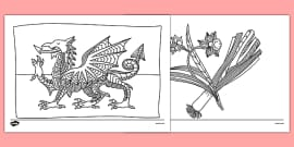 WL T 069 Wales Mindfulness Colouring Sheets