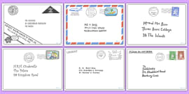 Letter Pack to Support Teaching on The Jolly Postman