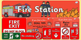 Fire Station Role Play Pack
