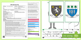 EYFS What Would You Include on Your Family Coat of Arms? Adult Input Plan and Resource Pack