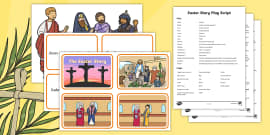 Easter Story Activity Pack