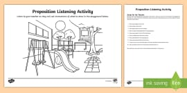 Barrier Games Pack - Speaking and Listening Games