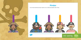 Writing Finger Spacers (Pirates)