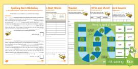 short i spelt as 39 y 39 freddy frog jumbled words worksheet worksheet. Black Bedroom Furniture Sets. Home Design Ideas