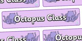 Octopus Class Display Banner