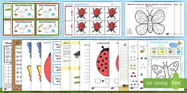 Minibeast Maths Activity Pack