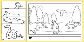 The Gruffalo Colouring Sheets
