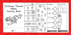 Australia - Christmas Themed Maths Activity Book