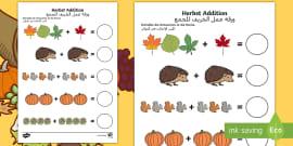 Deutsch-Arabisches Wie ist das Wetter Arbeitsblatt - Arabisch