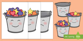 Have You Filled a Bucket Today Buckets (Colour)
