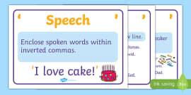 Exclamation Marks Punctuation Poster Grammar Literacy