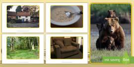 Goldilocks and the Three Bears Display Photos