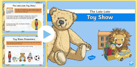 History Of Toys Differentiated Reading Comprehension Activity Cfe