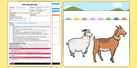 The Three Billy Goats Gruff Counting Game EYFS Adult Input Plan and Resource Pack