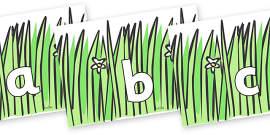 Phoneme Set on Wavy Grass