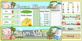 Farm Shop Role Play Pack