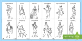 GREEK MYTHOLOGY coloring pages - Coloring pages - Printable ... | 135x270